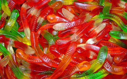 O'Shea's German Gummi Worms