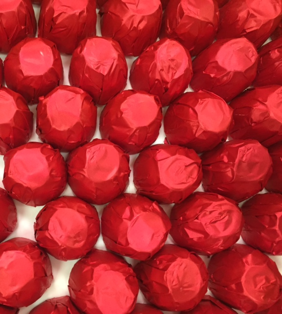 O'Shea's Milk Chocolate Foiled Cherries