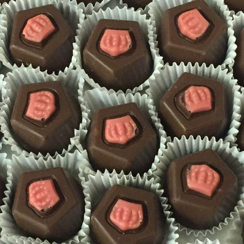 O'Shea's Milk Chocolate Raspberry Crown Truffles