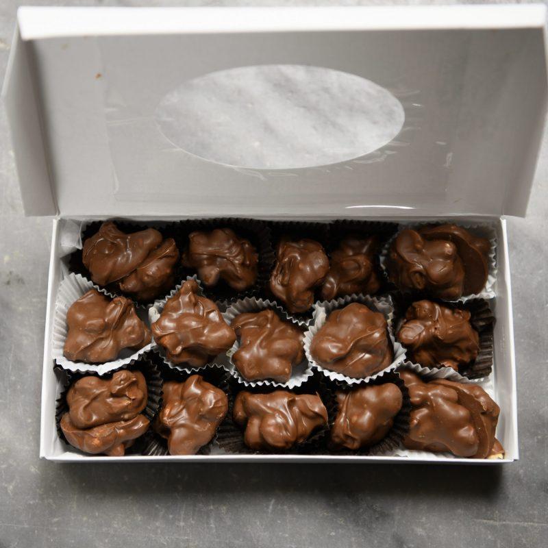 O'Shea's Milk Chocolate Hand Dipped Peanut Clusters
