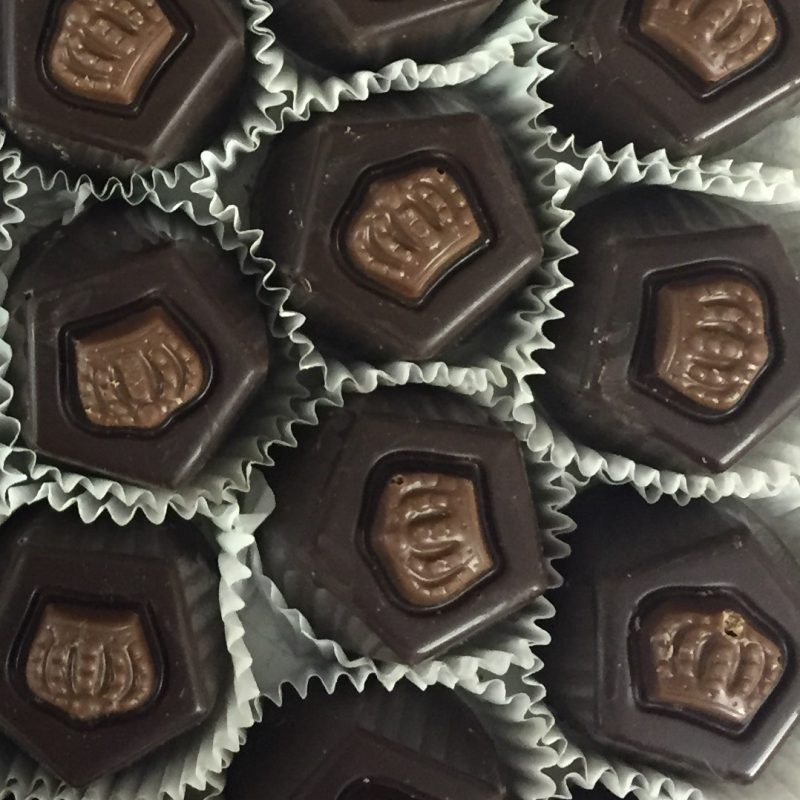 O'Shea's Dark Chocolate Chocolate Crown Truffle