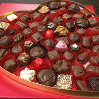 O'Shea's Heart Box Of Assorted Chocolates