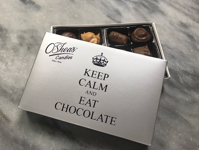 "O'Shea's ""Keep Calm And Eat Chocolate"" Assorted Chocolates"