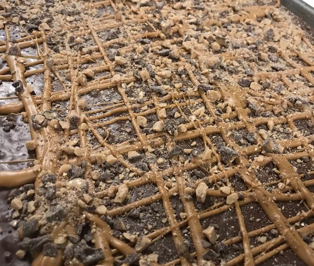 O'Shea's Peanut Butter Toffee Bark
