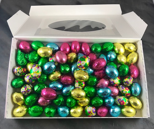 O'Shea's Foiled Easter Eggs