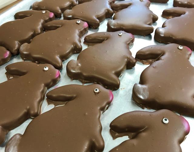 O'Shea's Milk Chocolate Chocolate Whip Bunny