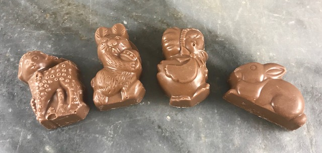 O'Shea's Easter Milk Chocolate Peanut Butter Toys