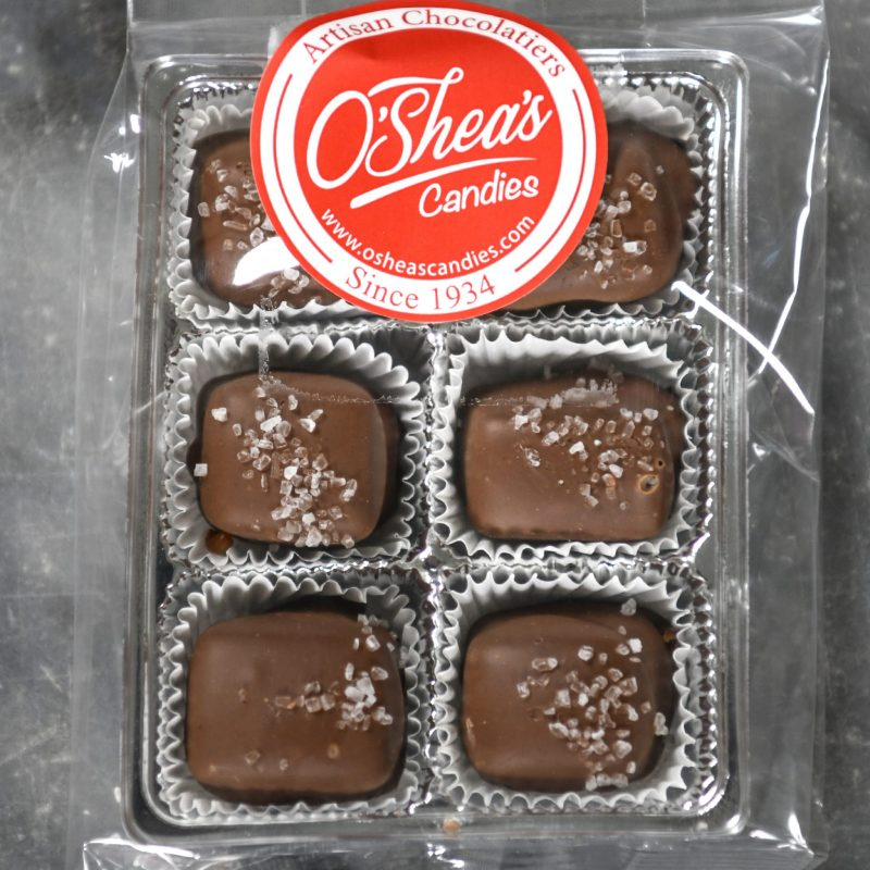 Snack Pack 6 Pc – O'Shea's Milk Chocolate Sea Salt Caramels