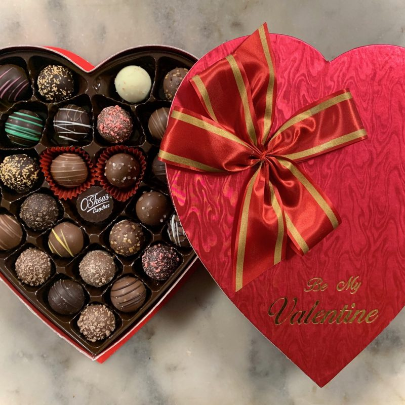 O'Shea's Heart Box Of Mini Truffles